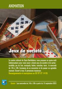 Jeux de Société @ Centre Culturel